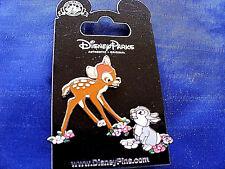 Disney * BAMBI & THUMPER * 2 Pin Set  * New on Card Trading Pins