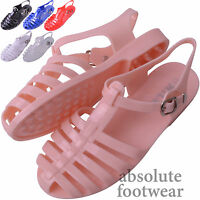Ladies / Womens Summer / Holiday / Beach Jelly Sandals / Flip Flops / Shoes