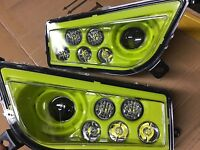 2015-2020 POLARIS RZR 900 S- LIME SQUEEZE for BLACK PEARL MOD HEADLIGHTS