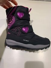 Girl's Geox Orizont ABX 10 Waterproof & Insulated Boot Mid Calf, Size 31 (13)