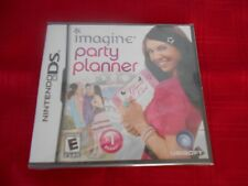 IMAGINE:  PARTY PLANNER NINTENDO DS FACTORY SEALED!!!  FREE FAST SHIP!!!!!