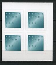 Nederland 2002 Rouwzegel nr 2049 blok v 4 witte fosfor - SCHAARS