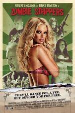 Zombie Strippers  - original movie poster - 27x40 2008 Jenna Jameson