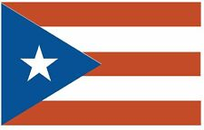 PUERTO RICO Vinyl International Flag DECAL Sticker MADE IN THE USA F405