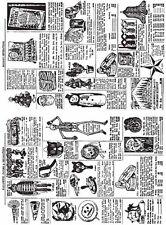 "TH - Cling Stamps Set -7""X8.5""  Seasonal Catalogue 1 - Rrp28.50"