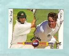 1997  SELECT CRICKET BOX CARD B5  MARK WAUGH & NATHAN ASTLE