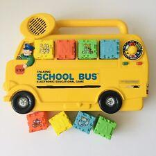 Vtech Talking School Bus Educational Game - Vintage 1987