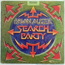 Search Party BRIAN AUGER Vinyl Record Promo Album 1981 w/ Promo sheet Audiophile