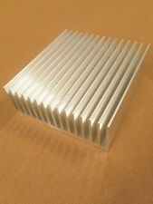 4 inch Heat Sink Aluminum Serrated (4 x 4.6 x 1.7) inch. Low Thermal Resistance