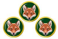 Fox's Tête Marqueurs de Balles de Golf