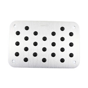 Anti-slip Universal Car Accessories Mat Pad Plate Floor Foot Rest Pedal Cover