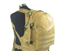 Military Tactical US Hunting Airsoft 3Day Molle Backpack Bag Hiking Tan Color