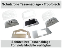 3 - 10 x Schutzfolie für Siemens EQ500 - EQ6 - EQ6 PLUS - EQ9 - EQ3 Tassenablage
