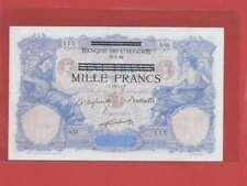 Tunisie 1 000 Francs ( 1942 ) surchargé sur un 100 Francs  Français du 15-7-92