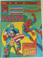 CAPTAIN AMERICA-SPIDER-MAN-SIGNED JIM STERANKO-MARVEL COMICS-AUSTRALIA-KIRBY-'75