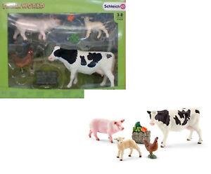 Schleich - COFFRET NEUFMes premiers animaux de la ferme - scl41424 SCHLEICH