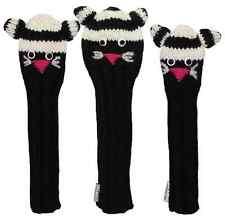 Sunfish Cat animal knit wool golf headcover set - DR, FW, HB