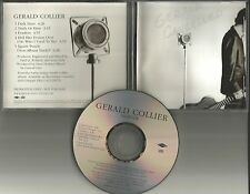 Best Kissers in the World GERALD COLLIER Sampler w/ UNRELEASE PROMO DJ CD single