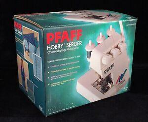 NIB PFAFF HOBBY SERGER TS381A, Portable Overedging Machine Overlock Sewing Craft