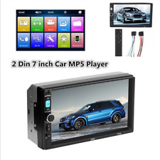 2 DIN 7inch Car Auto FM Stereo Radio MP5 Player Touch Screen Bluetooth USB AUX