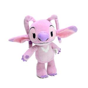 Disney nuiMOs Lilo & Stitch Angel Poseable Plush Soft Stuffed Toy Washed 16cm