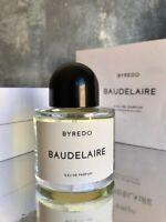 BYREDO Baudelaire 100 ml / 3.3 oz. Eau de Parfum