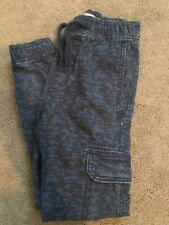 Abercrombie Kids Boys Blue Camouflage Joggers Pants Size Extra Small XS