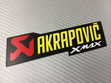 Adesivo Stickers AKRAPOVIC Xmax X max Alte Temperature High Temperatures