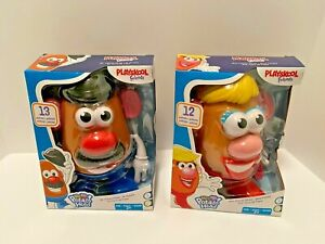 Mr. & Mrs. Potato Head (Playskool Friends) Complete Set DISCONTINUED NEW/SEALED