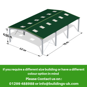 Steel Frame Building 60ftx40ftx15ft