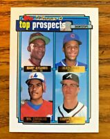 1992 Topps Gold Winner Top Prospects #551 Chipper Jones RC - Braves