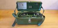 British Army TMC LTD UK PTC 405 Field Telephone  NSN - 5805-99-966-0006 Untested