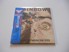 """Rainbow """"Right between the eyes"""" Rare japan cd Paper Sleeve"""