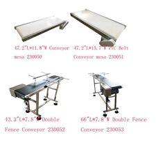 "Stainless Steel Conveyor 24"" X 15' Variable Speed Belt Tracker Way Cool"