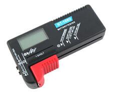 Testeur de piles digital universel 1,5V & 9V LCD accus batterie 1.5V V numérique