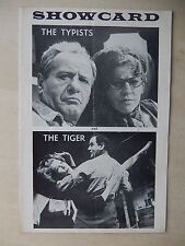 1963 - Orpheum Theatre Playbill - The Typists And The Tiger - Eli Wallach