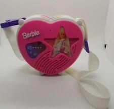1993 Mattel Barbie Heart Cassett Tape Player. Original Owner. Perfect Working.