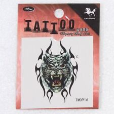 Body Art Temporary Tattoo Tiger Sticker Cool Fashion Painting Tattoos 1pc