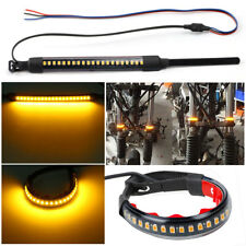 45-70mm Amber LED Fork Light Strips Wider Visibility for Motorcycle Turn Signal