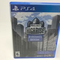 PlayStation 4 : Project Highrise: Architects Edition - P VideoGames