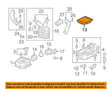 HONDA OEM 06-11 Civic Engine-Air Cleaner Filter Element 17220RNAA00