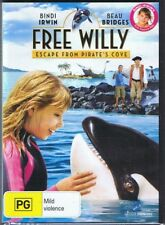 FREE WILLY DVD Escape From Pirate's Cove BINDI IRWIN Beau Bridges NEW & SEALED