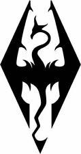 Skyrim Imperial Dragon Stencil