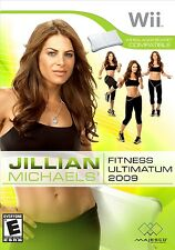 Jillian Michaels Fitness Ultimatum 2009 Wii Great Condition Complete