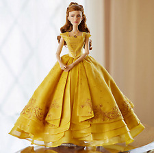 "New BEAUTY and the BEAST 17"" Disney Belle LIMITED EDITION Doll /5500 W/COA"
