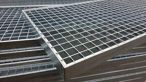 Industrie Gitterrost 1000x500 mm, MW 30/30 mm, Tragstab 50/3 mm befahrbar