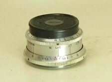 Industar-50 Russian SLR lens 3.5/50mm screw M39 RED P #5997660