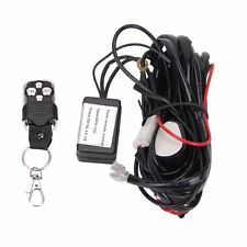 40A 12V Wiring Kit With Wireless Remote Control 2Lead For LED Light Bar Offroad