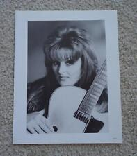 Two Sided Black White Picture Photo - Wynonna Judd & Billy Ray Cyrus