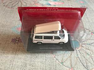 Voiture miniature Passion Camping Car Volkswagen T4 California 2003 au 1/43
